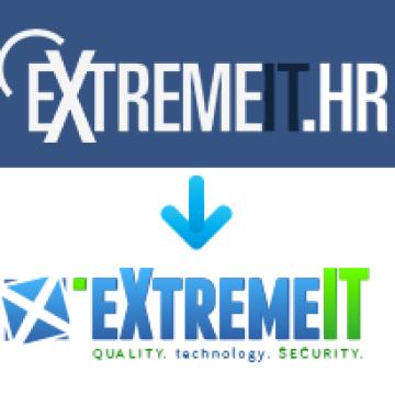 Redizajn stranice tvrtke Extreme IT