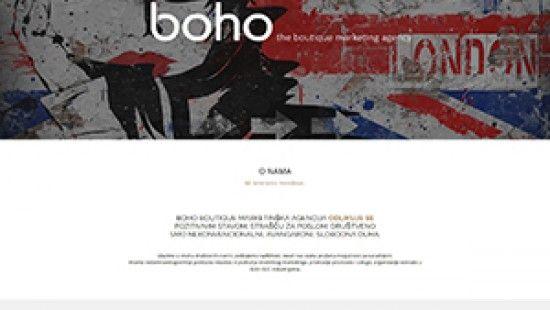 BOHO boutique marketing agency